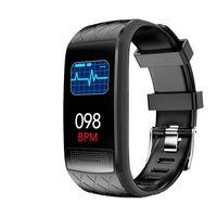 Pulsera de actividad con ECG, frecuencia cardíaca, presión arterial, o