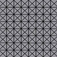 Alloy Deco-s-s-ma Mosaico De Metal Sólido Acero Inoxidable Gris