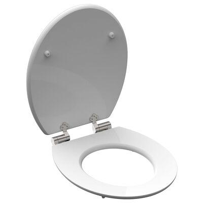 SCHÜTTE Tapa de váter cierre suave modelo POOLSIDE MDF alto brillo