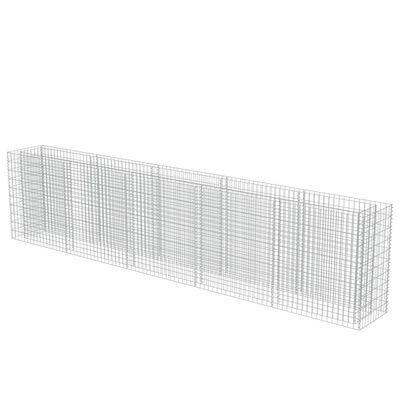 vidaXL Arriate de gaviones de acero 450x50x100 cm