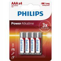 Paquete de 4 pilas alcalinas AAA