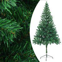 vidaXL Árbol de Navidad artificial con soporte 180 cm 564 ramas