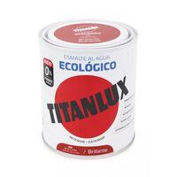 Esmalte Agua Ecologico Brillante Blanco 750 Ml - TITANLUX - 00T056634