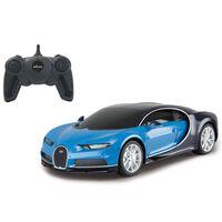 Jamara Coche superdeportivo teledirigido Bugatti Chiron azul 1:24