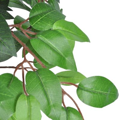 Árbol/ Planta de ficus artificial en maceta, 110 cm