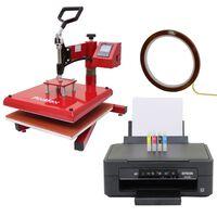 38cm Swing Heat Press & Epson Printer