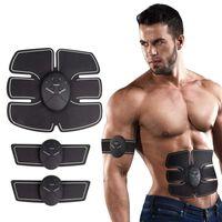 Estimulador muscular a batería para músculos abdominales, brazos / pie