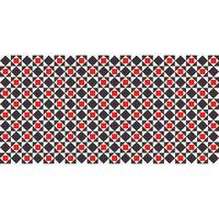 Flooralia- Alfombra de vinilo  - Geométrica - G-007