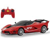 Jamara Coche superdeportivo teledirigido Ferrari FXX Evo rojo 1:24