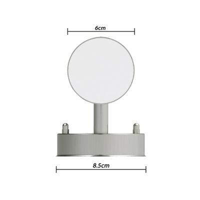 vidaXL Lámpara de pared exterior detector movimiento acero inoxidable