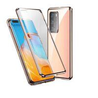 Funda Para Móvil Con Cristal Templado De Doble Cara - Huawei P40 Pro -