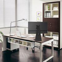"NewStar Soporte de pantalla escritorio 10""-37"" ajustable 6 cm negro"