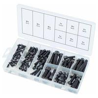 KS Tools Surtido de tornillos hexagonales 106 piezas métrico
