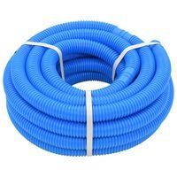 vidaXL Manguera de piscina azul 38 mm 12 m