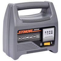 Sthor Cargador de batería con LED 12V 6A 90Ah