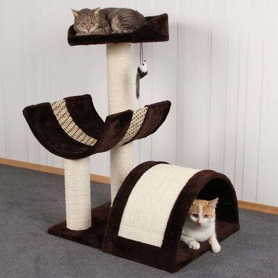 Kerbl Rascador para gatos Safari marrón oscuro 60 cm