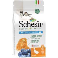 Schesir Natural Selection Kitten Pato  | 350 Gr | Miscota Ecommerce