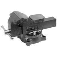 YATO Tornillo de banco con base giratoria 125 mm
