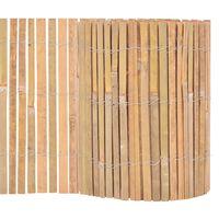 vidaXL Valla de bambú de jardín 1000x30 cm