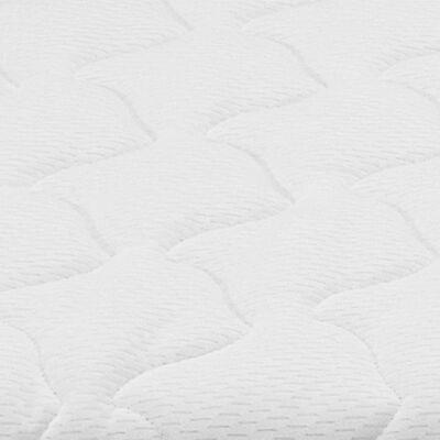 vidaXL Sobrecolchón 120x200 cm espuma viscoelástica 6 cm