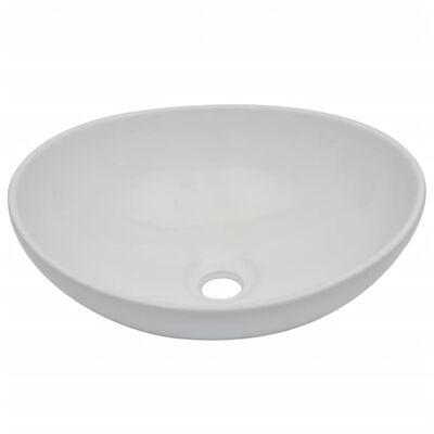 vidaXL Conjunto de muebles de baño 2 piezas cerámica negro