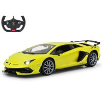 Jamara Deportivo teledirigido Lamborghini Aventador SVJ amarillo 1:14