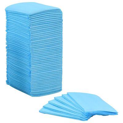 vidaXL Empapadores para mascota 100 unidades 60x45 cm textil no tejido
