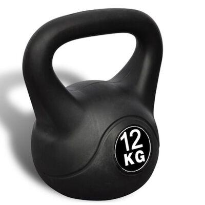 vidaXL Pesa kettlebell 12 kg