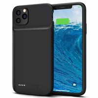 Tapa de batería de respaldo 5000 mAh iPhone 11 Pro Max - negro