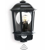Steinel Lámpara de exterior con sensor L 190 gris antracita
