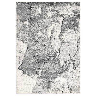 vidaXL Alfombra de PP gris 120x170 cm