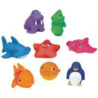 Munchkin Juguetes de baño animales lanzachorros Ocean 8 unidades