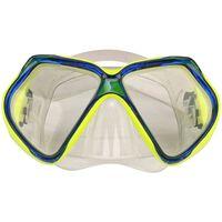 Waimea máscara de buceo de silicona amarillo/azul cobalto 88DK