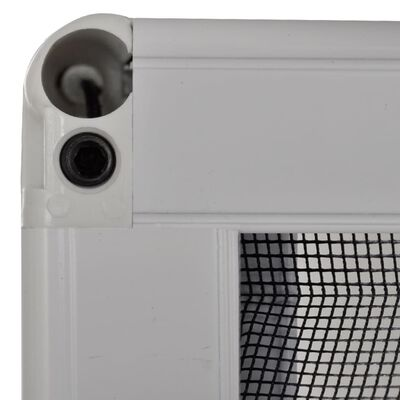vidaXL Mosquitera plisada para ventanas aluminio 60x160cm