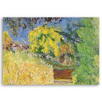 Cuadro Lienzo - Escaliers Dans Le Jardin De L'Artiste - Pierre Bonnard