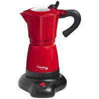 Bestron Cafetera de expreso 6 tazas 480 W roja AES480