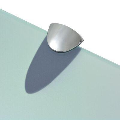 vidaXL Estante flotante de cristal 80x10 cm 8 mm