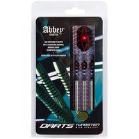 Abbey Darts Set de dardos 3 unidades 85% tungsteno plateado 26 g