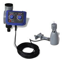Programador de riego automático con sensor de lluvia y una salida