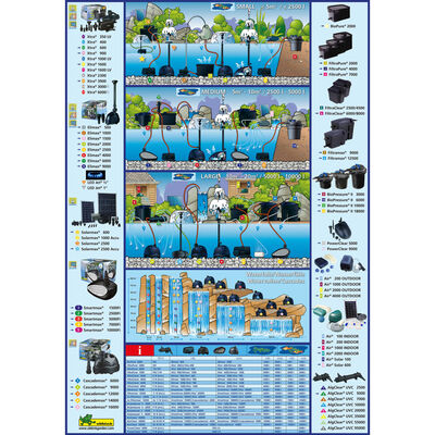 Ubbink Fltro de estanque FiltraClear 8000 Plus 1355167