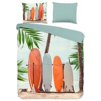 Good Morning Funda de edredón SURF 155x220 cm multicolor