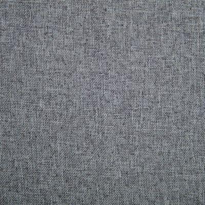 vidaXL Silla de comedor giratoria tela gris claro