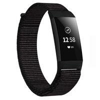 Pulsera de nailon Fitbit Charge 3/4 - negro