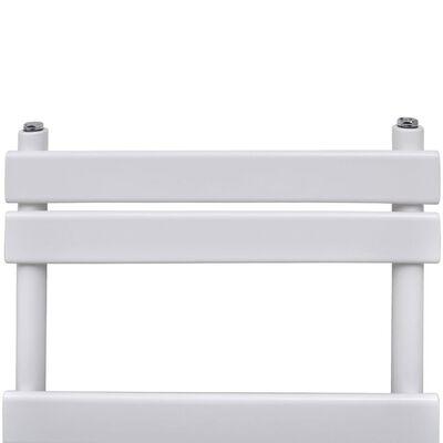 vidaXL Radiador toallero de baño recto 600 x 1200 mm