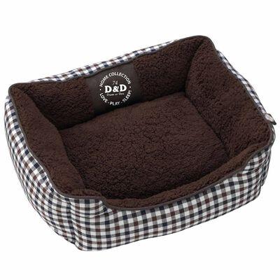 D&D Cojín cama para mascota Sweet Checker 80x60x24 cm 671/438091