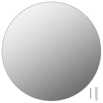 vidaXL Espejos de pared redondos 2 unidades vidrio 40 cm