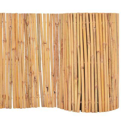 vidaXL Valla cañizo de jardín de bambú 500x30 m
