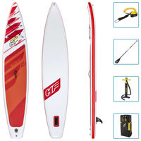 Bestway Set de SUP inflable Hydro-Force Fastblast Tech 381x76x15 cm