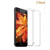 Protector de pantalla iPhone 8 vidrio templado - paquete de 2 transpar