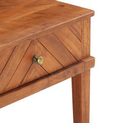 vidaXL Mueble para TV de madera maciza de acacia 110x40x41 cm